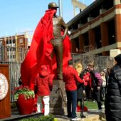 Bob Stoops Statue Unveiling