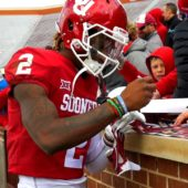 Signing signatures after the Spring Game