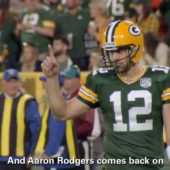 Memorable Minute: Aaron Rodgers engineers a comeback